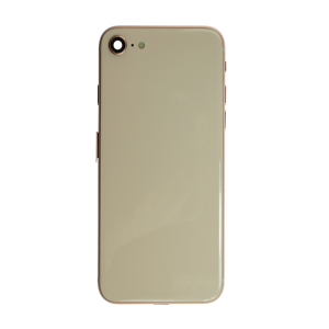 iPhone 12 Pro Glass Back Cover and Housing with Pre-installed Small Components - Gold (No Logo)