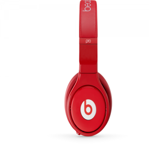 Beats By Dr Dre Pro Noise Reduction Over Ear Red Limited Edition Headphones | Tune Out the Noise