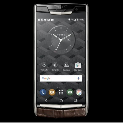 Vertu Signature Touch Cocoa Alligator Clone Android 11.0 Snapdragon 821 4G LTE luxury Phone