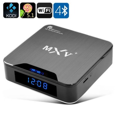 Android 9.1 TV Box - Wi-Fi, Bluetooth 4.0, H.265 Decoding, HDMI 2.0, KODI Support