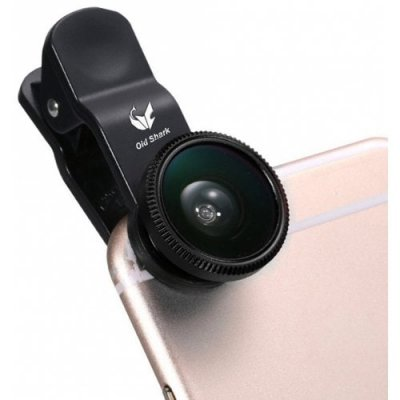 Old Shark 3-in-1 Phone Lens Kit - BLACK