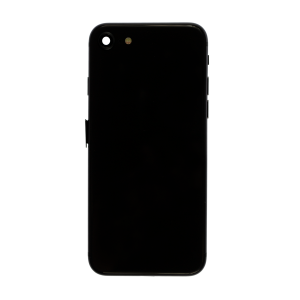 iPhone 8 Glass Back Cover and Housing with Pre-installed Small Components - Space Gray (No Logo)