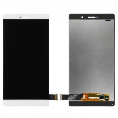 LCD Phone Screen Digitizer Full Assembly for Huawei P8 Max - WHITE