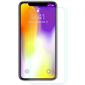 Hat - Prince 0.26mm 9H 2.5D Arc Tempered Glass Screen Protector for 6.5 inch iPhone XS Max 2pcs - TRANSPARENT