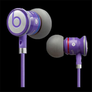 Beats By Dr Dre Just Beats In Ear Purple Headphones