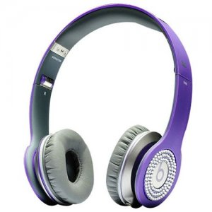 Beats By Dr Dre Solo Purple Diamond Headphones