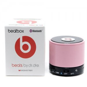 Beats By Dr Dre Beatsbox Portable Bluetooth Mini Speakers Pink