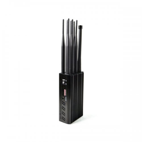 New Arrival Plus 8 Antennas Portable Cell Phone Jammer