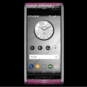 Vertu Aster Stingray Pink Clone Android 9.1 Snapdragon 821 4G LTE luxury Phone