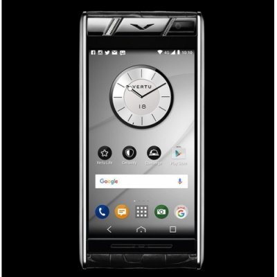 Vertu Aster Diamonds Black Alligator Clone Android 11.0 Snapdragon 821 4G LTE luxury Phone