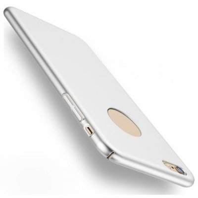 Luxury Bling Mat Hard PC Ultra Slim Matte Glossy Plating Back Cover Case for iPhone 12 6S - SILVER