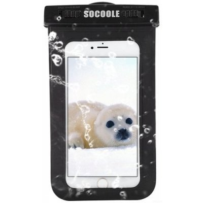 SOCOOLE Practical Regular Waterproof Bag for Mobile Phones - BLACK