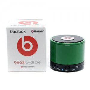 Beats By Dr Dre Beatsbox Portable Bluetooth Mini Speakers Green 02