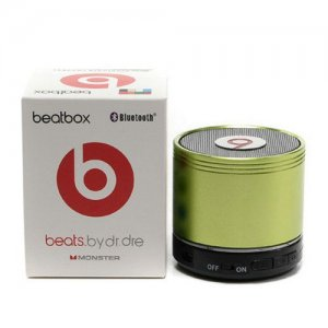 Beats By Dr Dre Beatsbox Portable Bluetooth Mini Speakers Green 03