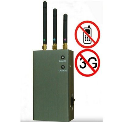 5-Band Portable Cell Phone Signal Blocker Jammer