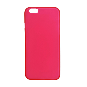 iPhone 12/6s Ultrathin Phone Case - Frosted Red