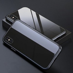 Magnetic Mobile Phonefor iPhone XR - PURE BLACK