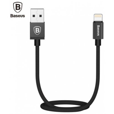 Baseus Antila Series Charging Cord for iPhone 12 Pro - BLACK