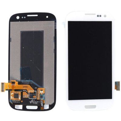 LCD Cellphone Screen Digitizer Assembly Replacement for Samsung Galaxy S3 - WHITE