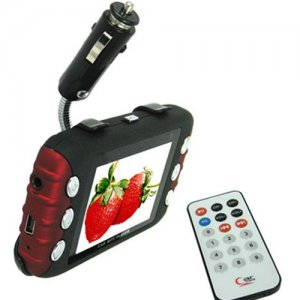 2.8 Inch 2GB Red / Black Remote Control Car MP5 Player
