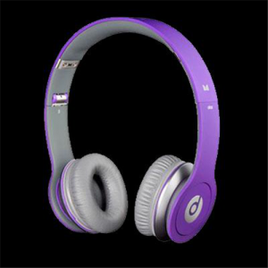 Beats By Dr Dre Just Beats Solo On Ear Purple Headphones