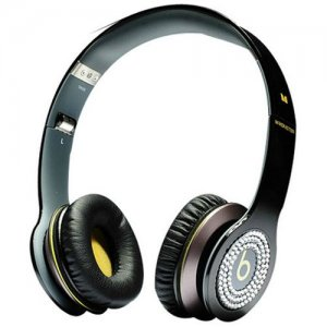 Beats By Dr Dre Solo Yellow Diamond Headphones Black