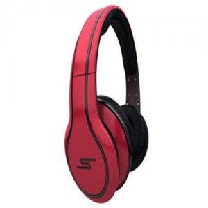 SMS Audio STREET by 50 Cent Limited Edition Over-Ear Wired Headphone - Red