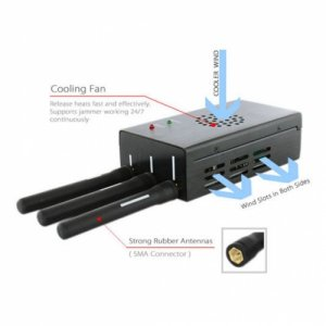 Multi-bands Powerful Wireless Video and WiFi Signal Jammer