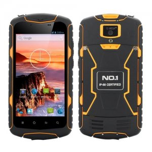 No.1 X1 Rugged Smartphone 5.0'' HD Screen MTK6582 Android 9.1 IP68 IP68 Rating