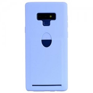 Q-Card Case Phone Case for Samsung Note 9 - LAVENDER BLUE