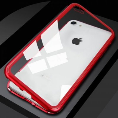 Magnetic King Mobile Phone Shell - RED