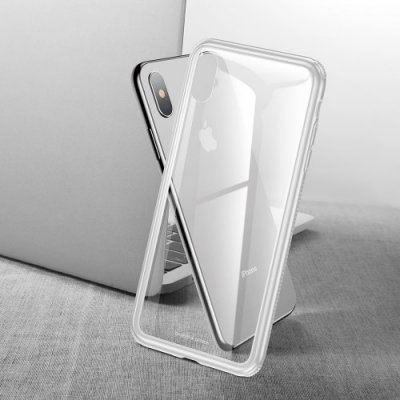 Baseus Fashion Durable Phone Case for iPhone XR 6.1 inch - WHITE