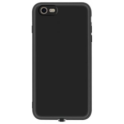Multi-function Wireless Charging Receiver Case for iPhone 12 - 6s - BLACK
