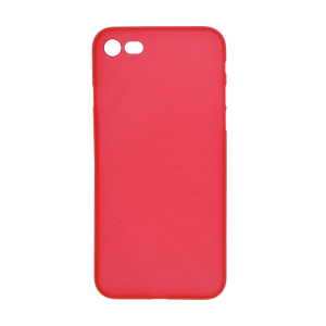 iPhone 12/8 Ultrathin Phone Case - Frosted Red