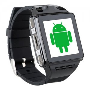 "IKWEAR IK8 Smart Watch Phone 1.54"" Screen MTK6577 Dual Core Android 9.1 GPS 5.0 MP Camera"