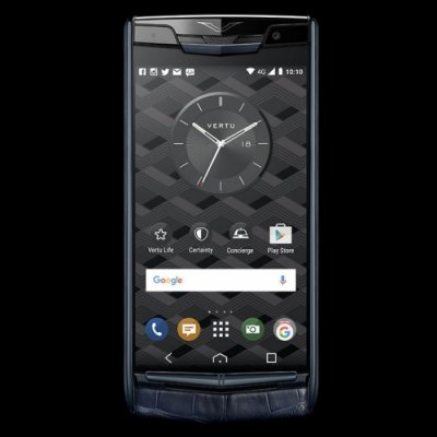 Vertu Signature Touch Pure Navy Alligator Clone Android 11.0 Snapdragon 821 4G LTE luxury Phone