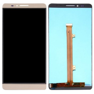 LCD Phone Touch Screen Replacement Digitizer Display Assembly Tool for Huawei Mate 7 - CHAMPAGNE GOLD