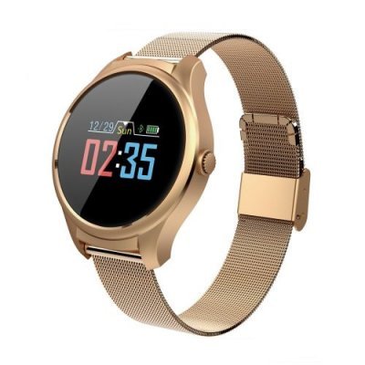 B35 Smart Color Screen Watch Sleep Waterproof Information Reminder Bracelet - GOLDEN BROWN