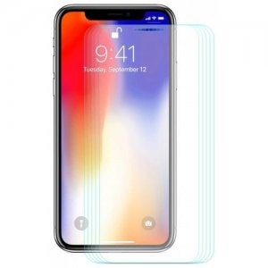 Hat - Prince 0.26mm 9H 2.5D Arc Tempered Glass Full Screen Protector for 6.1 inch iPhone XR 5pcs - TRANSPARENT