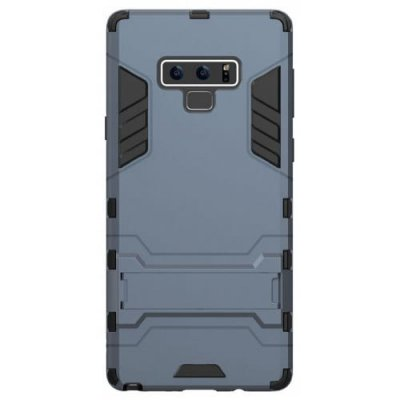 Case for Samsung Note 9 with Stand Back Cover Solid Colored Hard PC Material - CADETBLUE