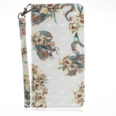 Dragon Flower Case Phone Case for iPhone 12-6 S - MULTI