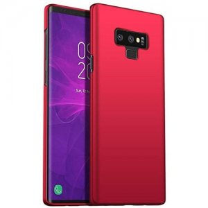 Ultra-thin Back Cover Hard PC Case for Samsung Note 9 - RED