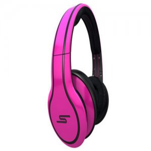 SMS Audio STREET by 50 Cent Limited Edition Over-Ear Wired Headphone - Magenta