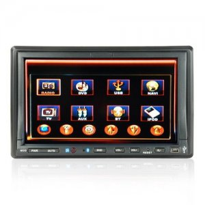 7 Inch Touch Screen Car DVD Player with GPS and Hands-free Function
