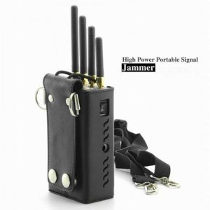 High Power Portable Signal Jammer for Cell Phone (CDMA GSM DCS PCS 3G)