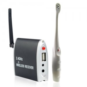 2.4GHz Wireless Toothbrush Camera with USB connection Support AV Output