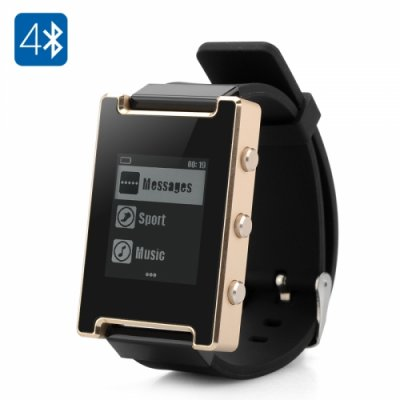 Smart Watch - For iOS Pedometer Music Control Remote Camera HD SLR Ink Screen