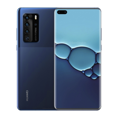 HUAWEI P40 Pro Android 11.0 OS 6.58 inch 50MP Quad Rear Camera Wireless Charge 8GB RAM Kirin 990 Octa core 5G Smartphone