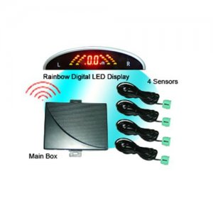 WRD039C4 Wireless Rainbow LED Display Parking Sensor