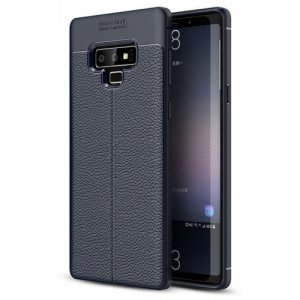 Case for Samaung Galaxy Note 9 Shockproof Back Cover Soft TPU - DARK SLATE BLUE